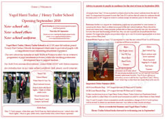 View/download our information leaflet for parents and pupils (July 2018)